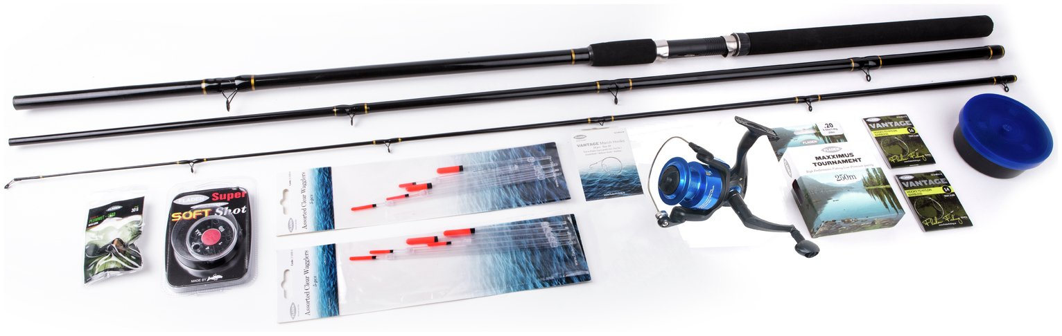 Fladen 12ft Waggler Float Fishing Set