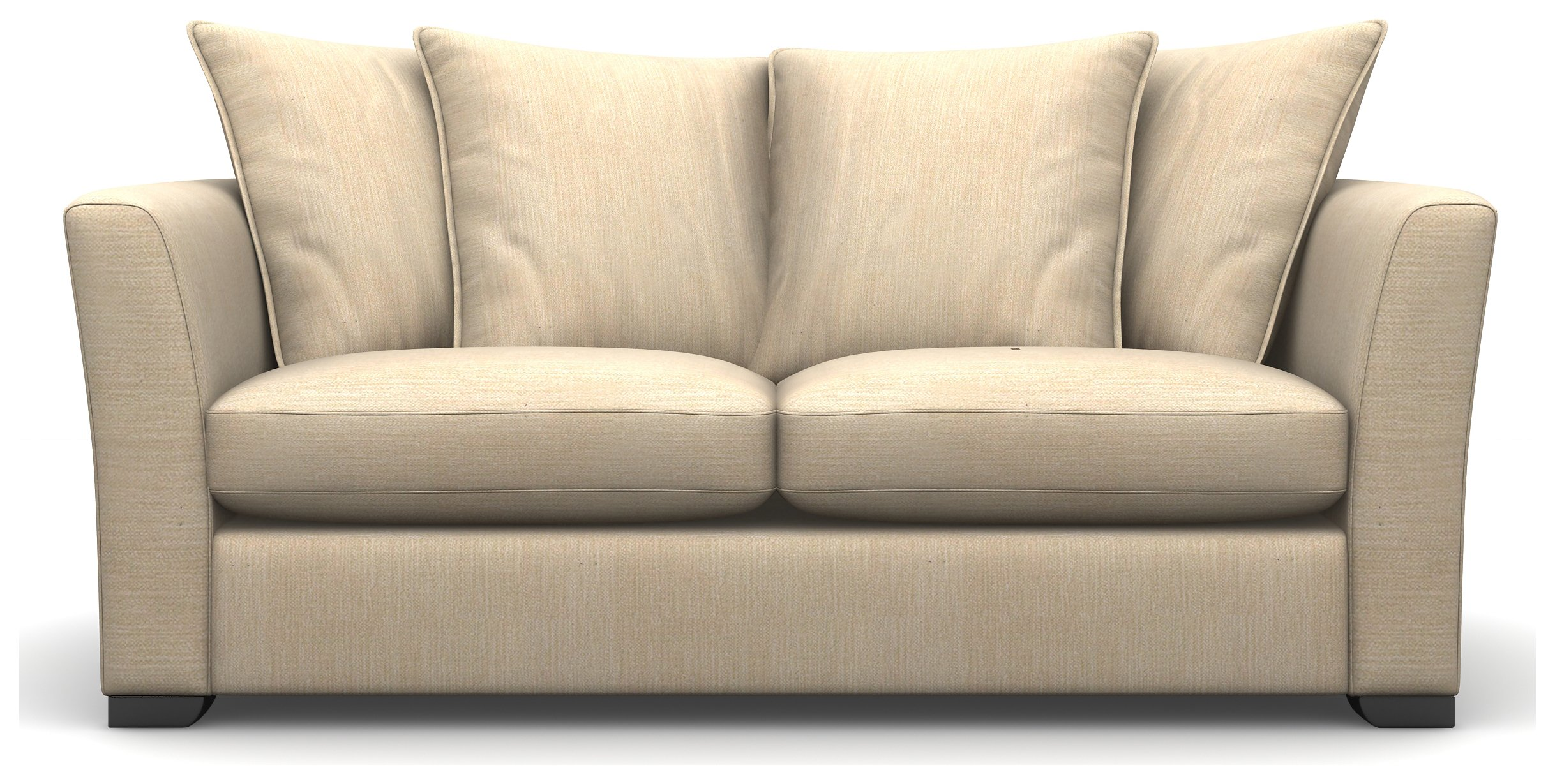 Heart of House Libby 2 Seater Fabric Sofa - Beige.