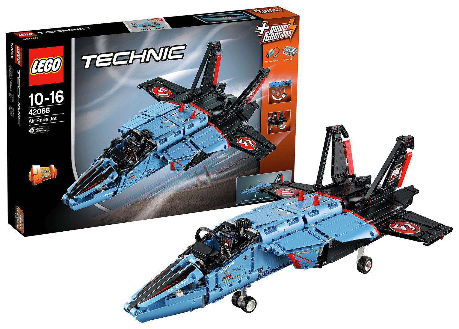 Image of LEGO Technic Air Race Jet - 42066