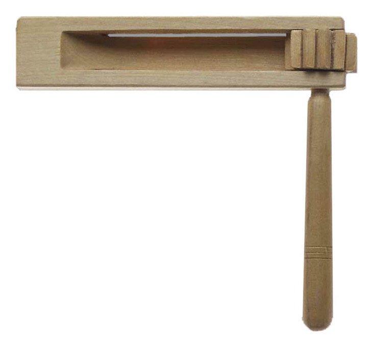 A Star Handheld Wooden Ratchet