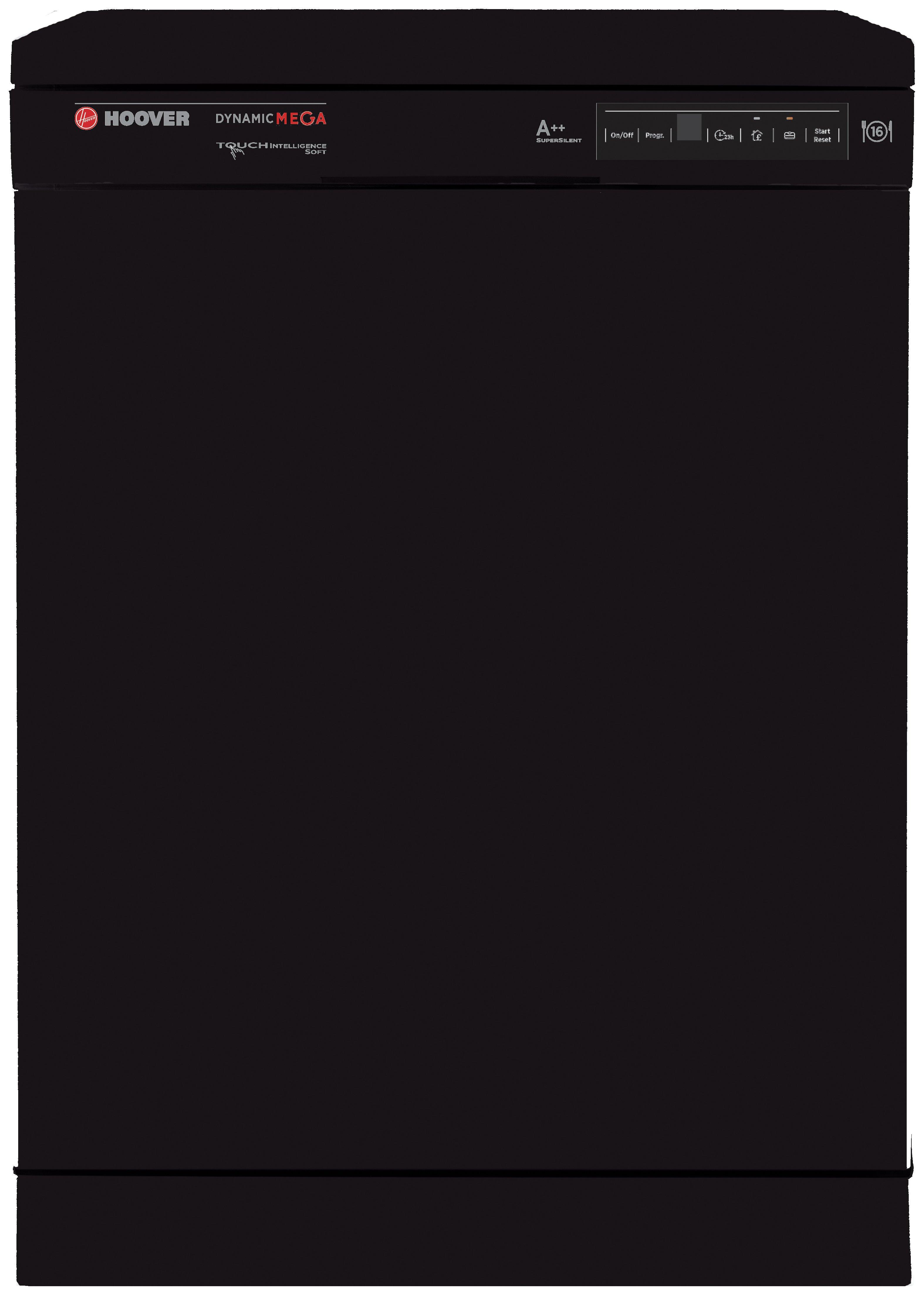 Hoover - HDP2D62B Dishwasher - Black