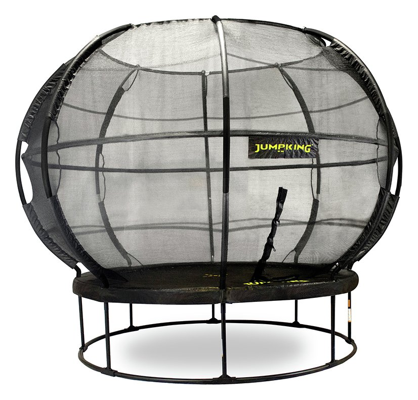 Image of Jumpking 12ft ZorbPOD Trampoline with Enclosure