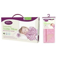Clevamama ClevaFoam Replacement Toddler Pillowcase - Pink.