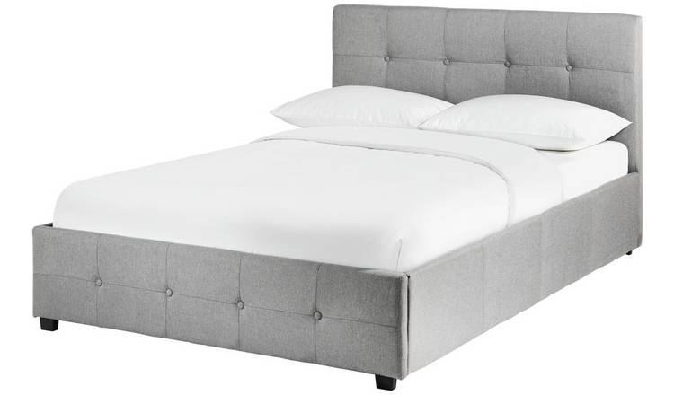 Pleasing Buy Argos Home Eros Ottoman Superking Bed Frame Grey Bed Frames Argos Theyellowbook Wood Chair Design Ideas Theyellowbookinfo