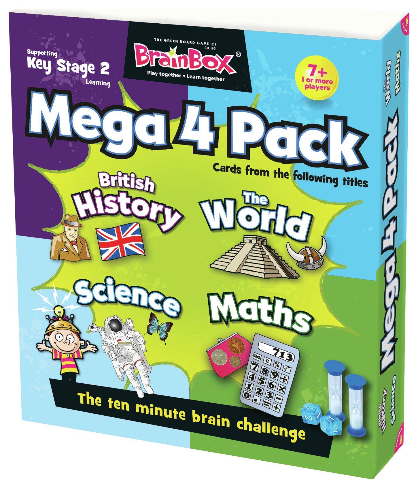 Image of Brainbox - Mega Pack - Key Stage 2 - Game.