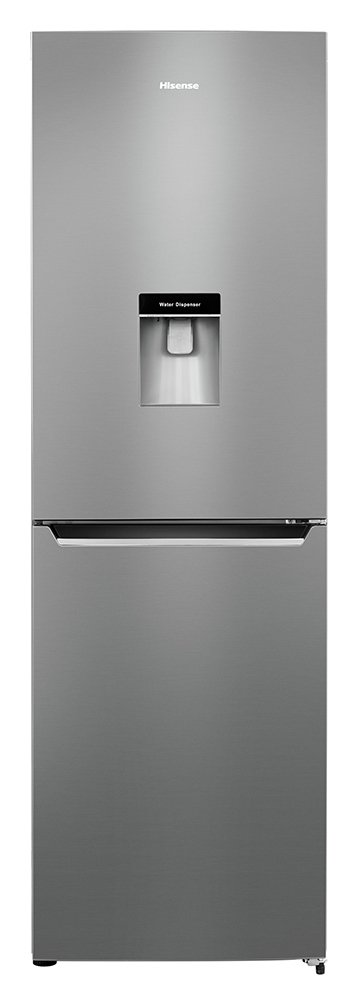 Hisense RB381N4WC1 Frost Free Fridge Freezer Stainless Steel