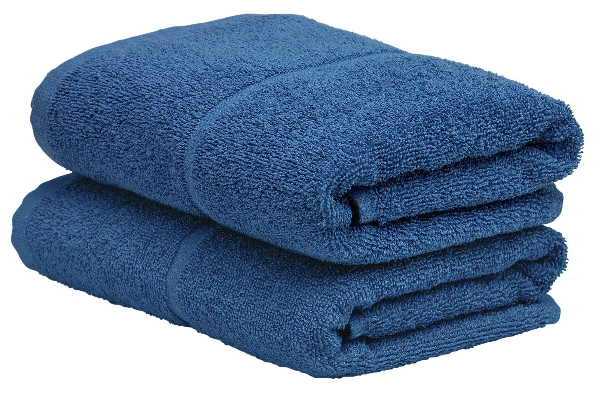Argos Home Pair of Hand Towels - Ink Blue