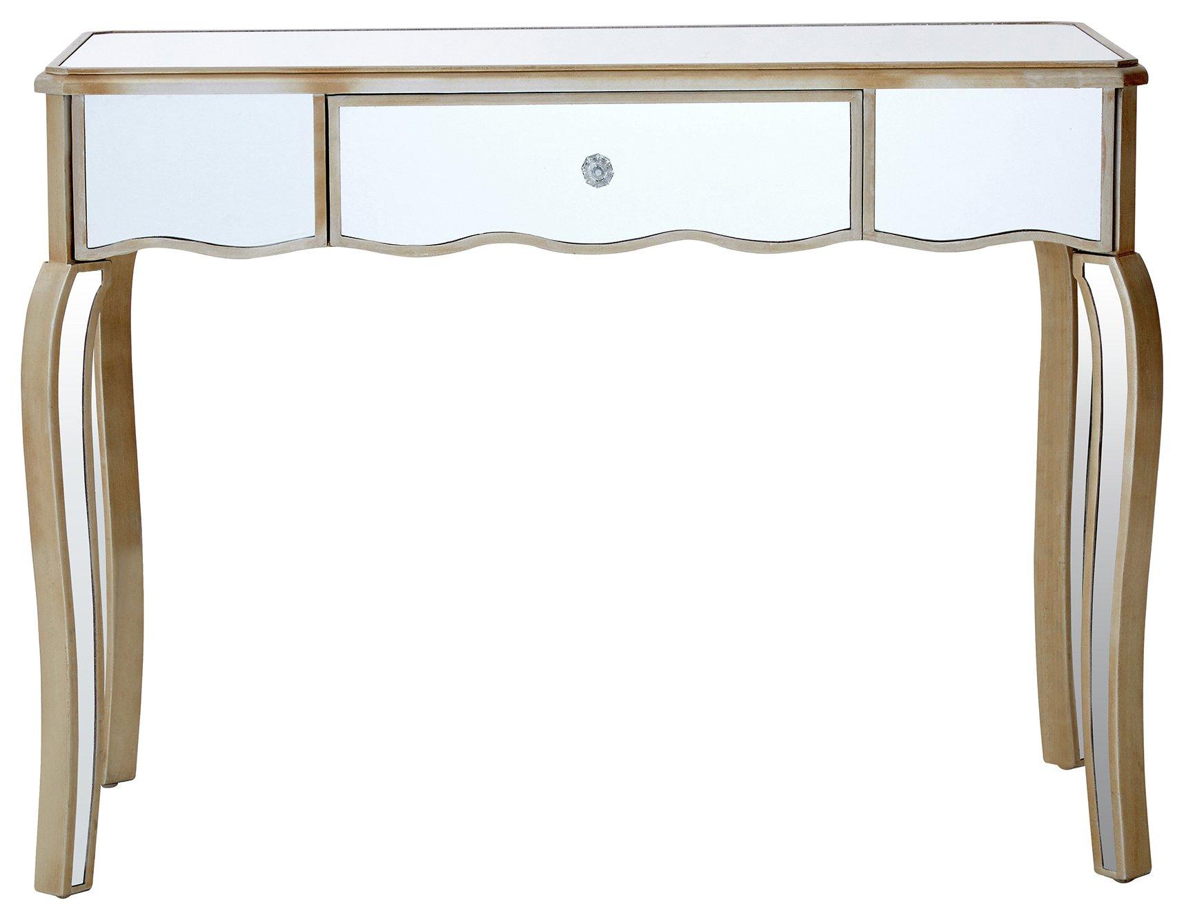 Premier Housewares Tiffany Mirror Finish Dressing Table