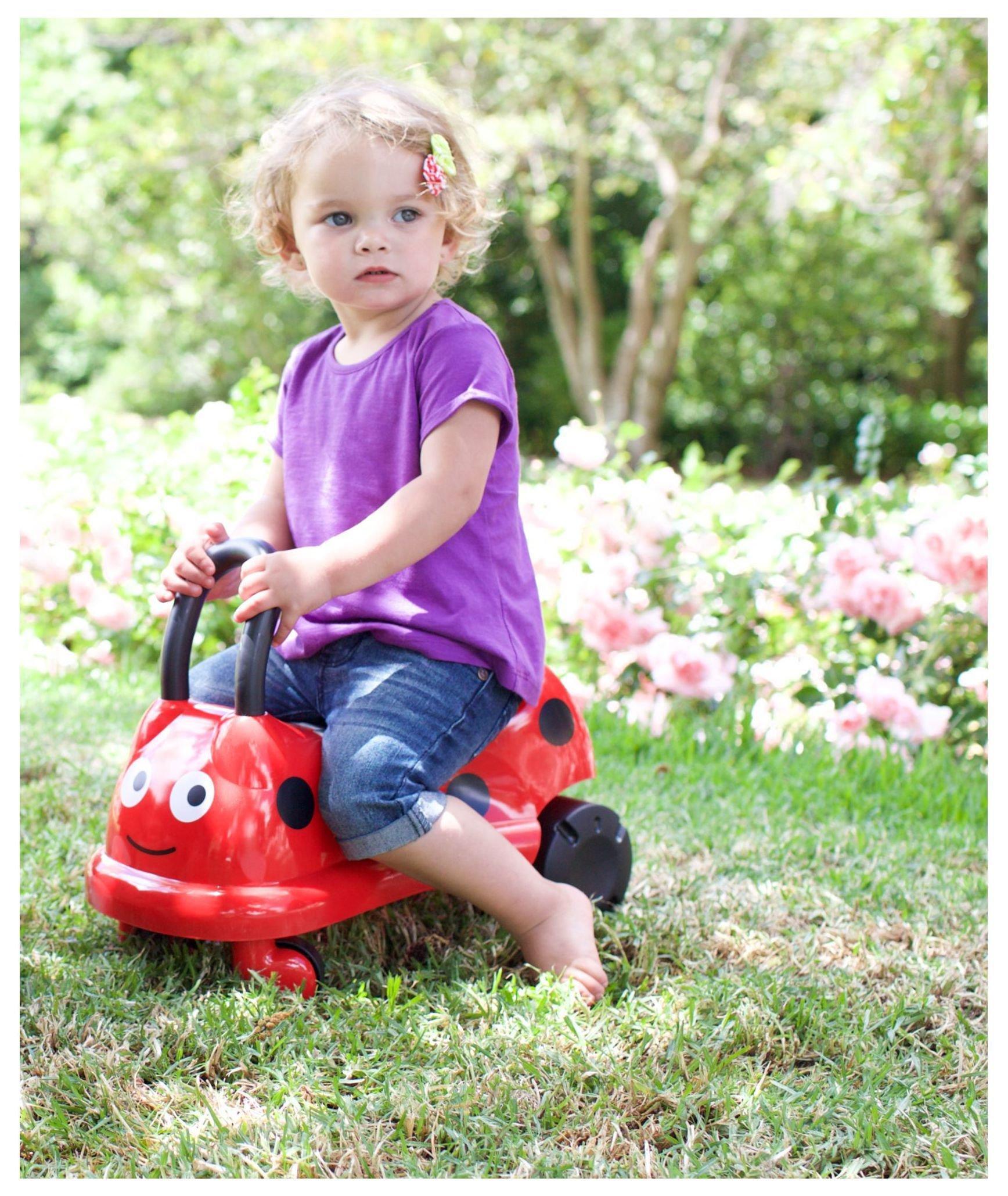 Image of ELC Easy Wheels Ladybird Ride On