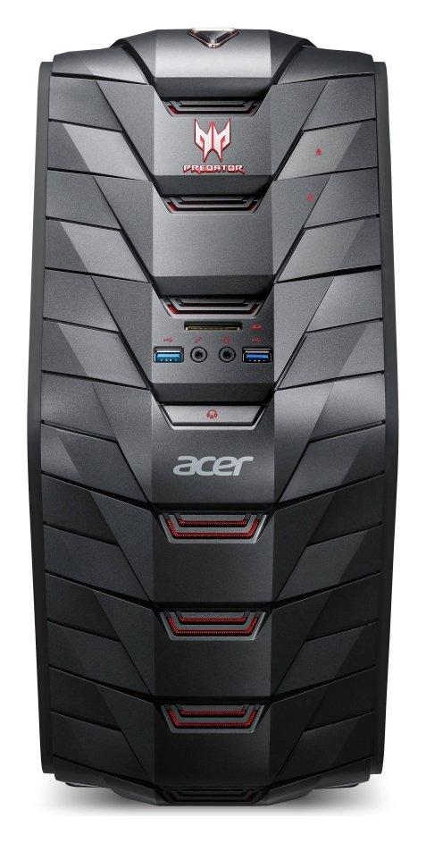 Image of Acer Predator i5 8GB 2TB 128GB GTX1060 Gaming PC - Black