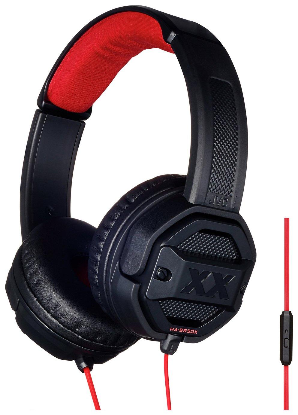 b0d5c236000 JVC Xtreme Xplosives HA-SR50X Over-Ear Headphones - Black. argos.co.uk