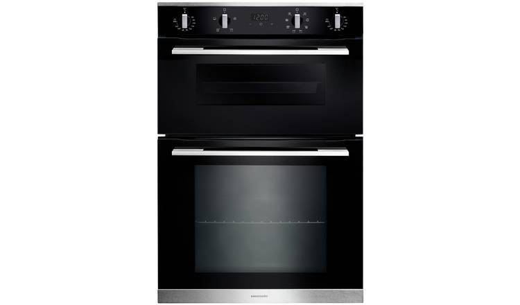 Rangemaster RMB9048BL Built In Double Electric Oven - Black