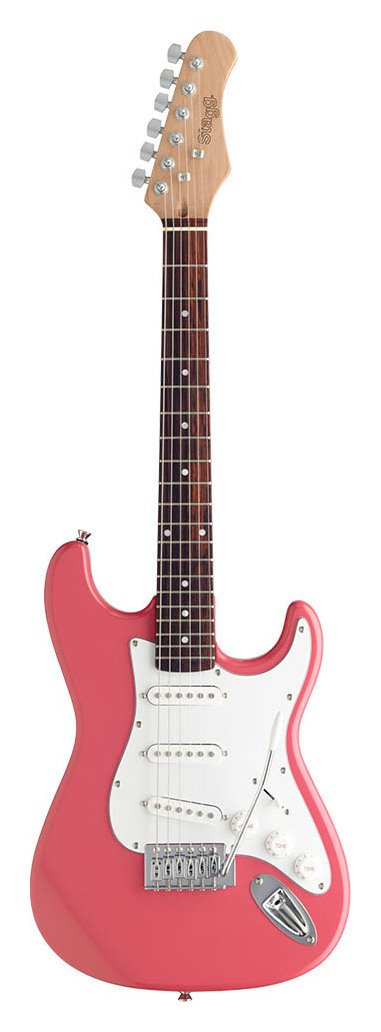 Stagg 3/4 Size Electric Guitar - Pink