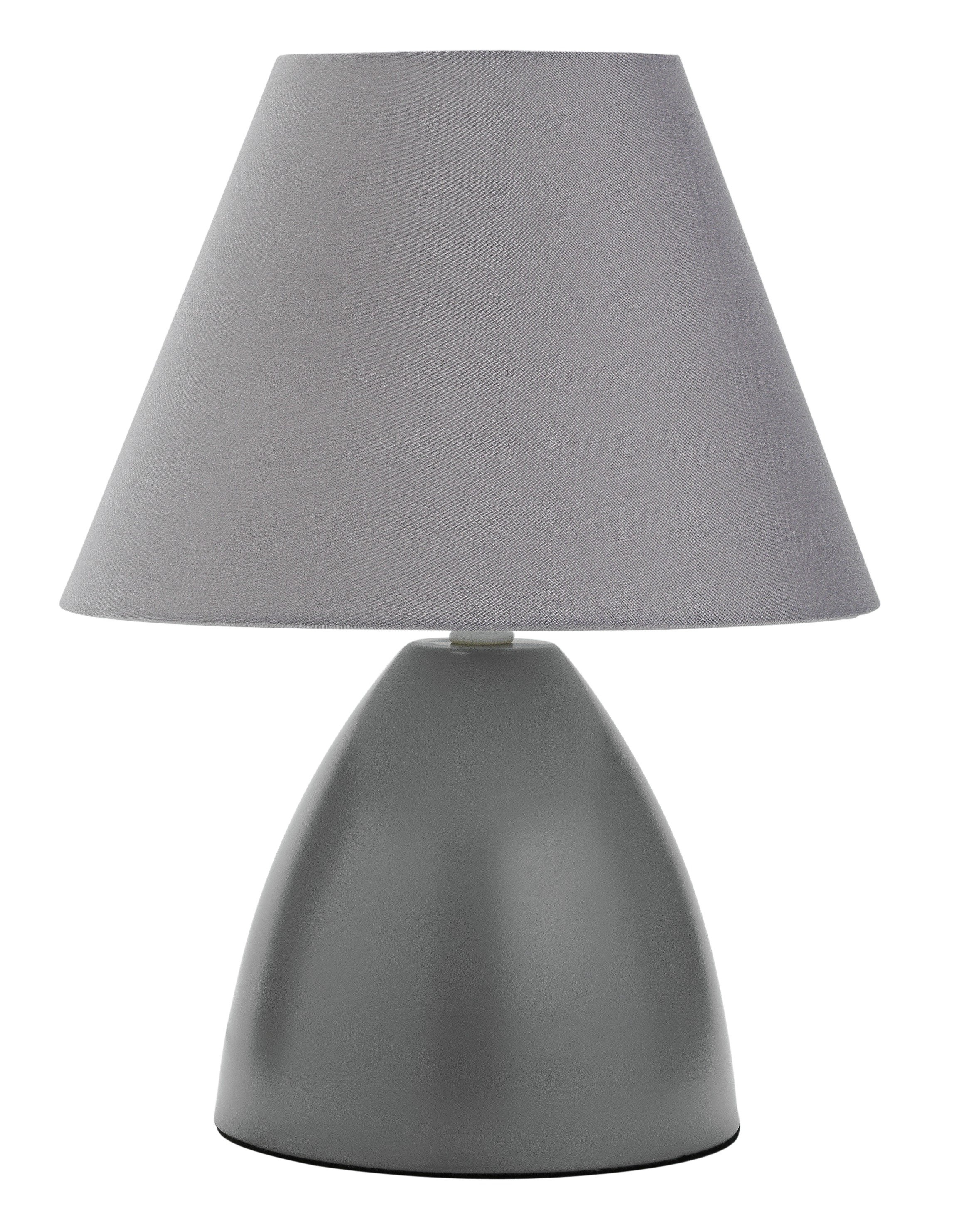 Image of HOME - Tenby Touch - Table Lamp - Grey