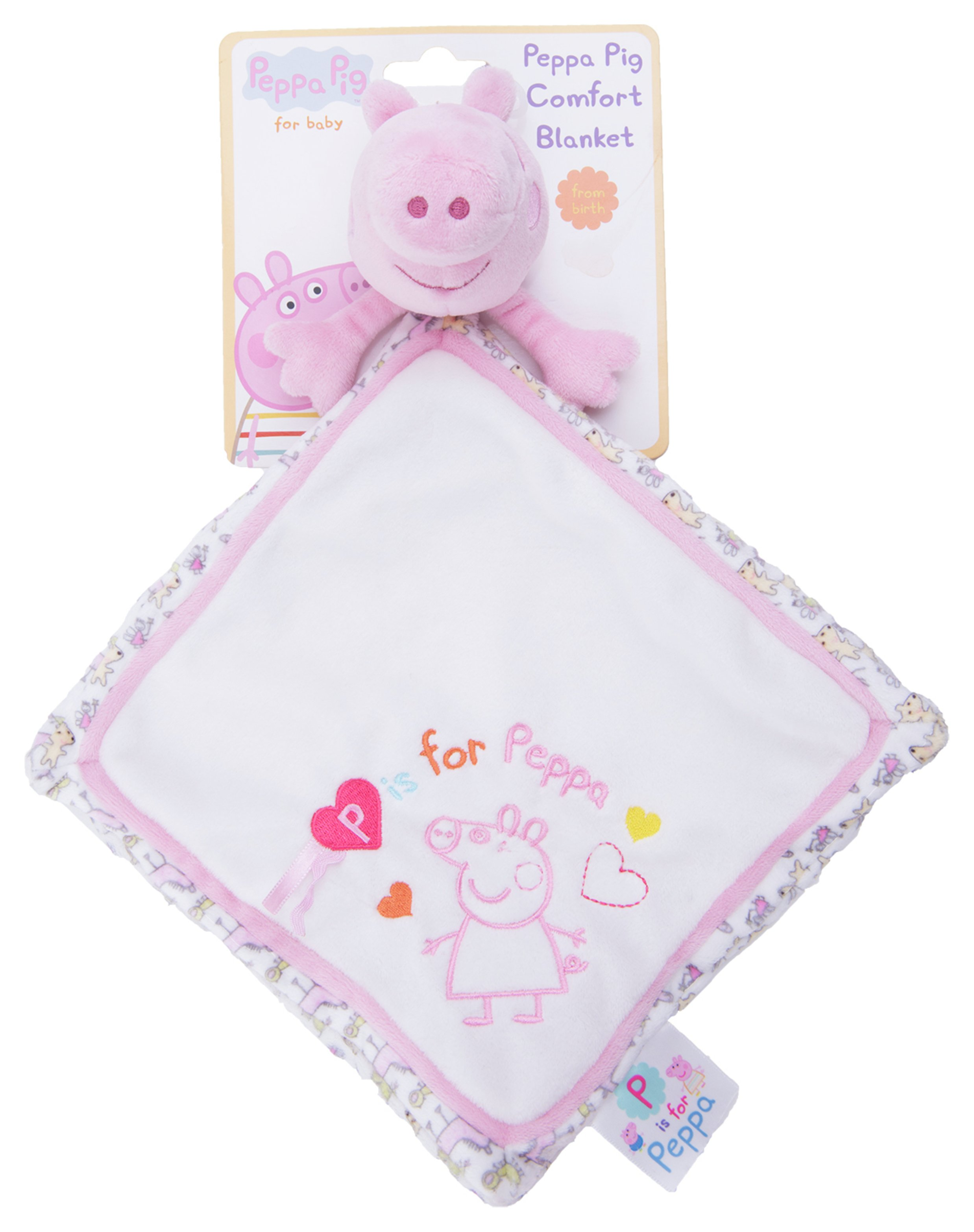 peppa pig  for baby  comfort blanket