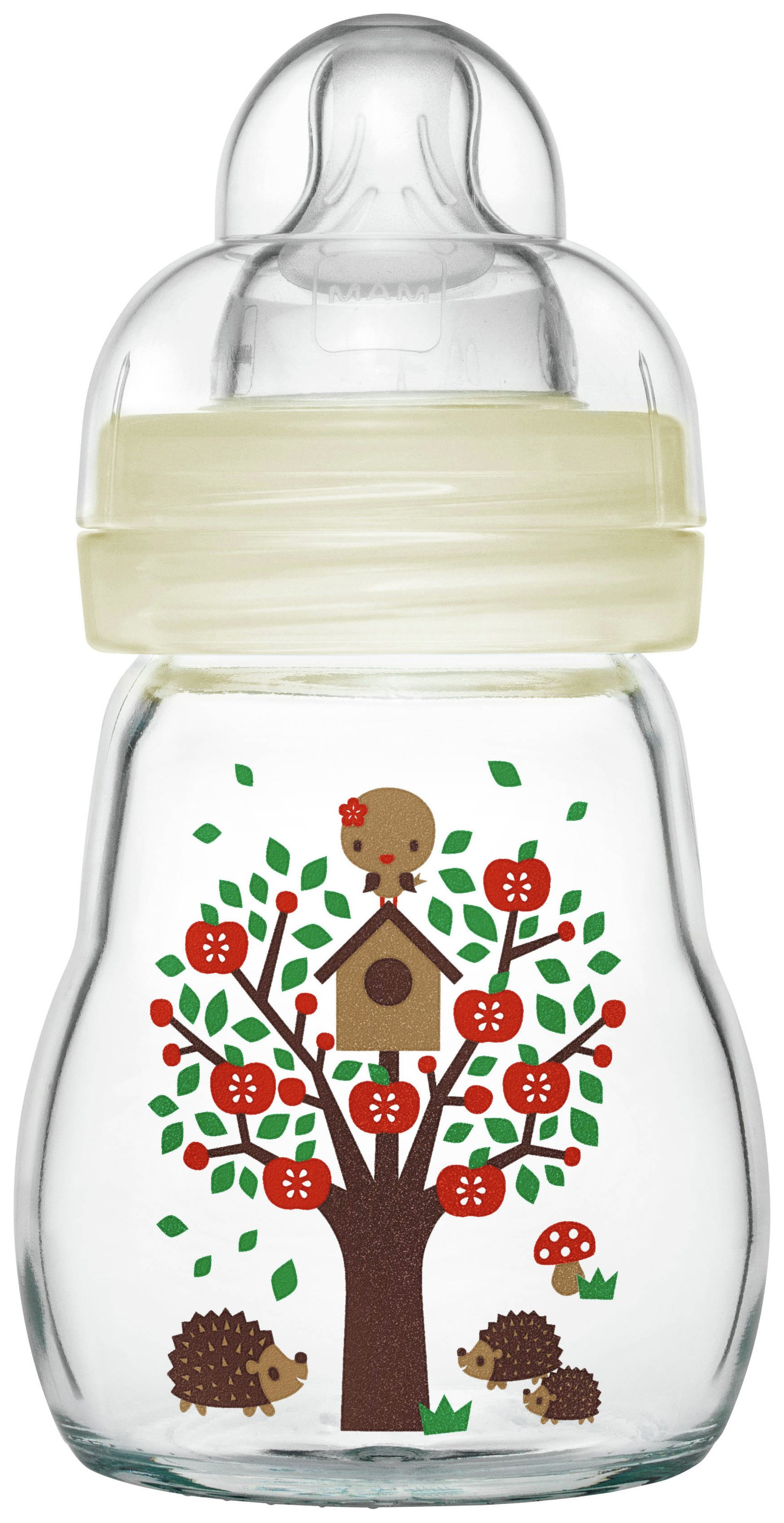 Image of MAM - Feel Good Glass Bottle 170ml