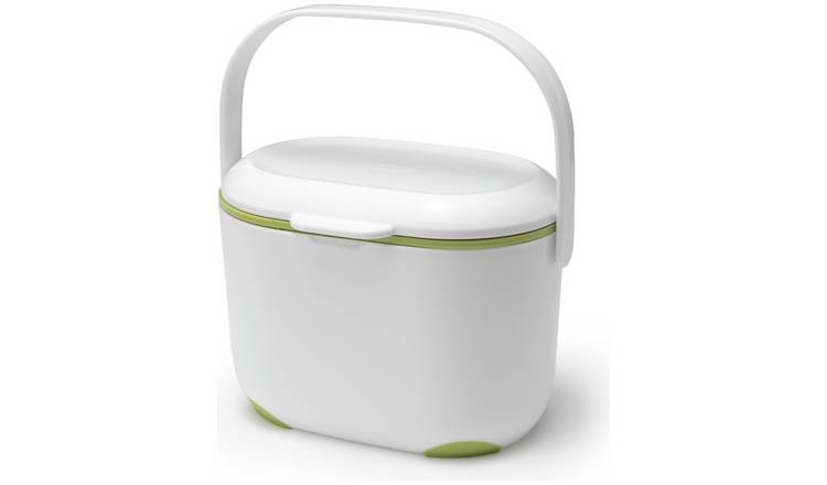 Buy Addis Compost Caddy - Green and White | Kitchen bins | Argos