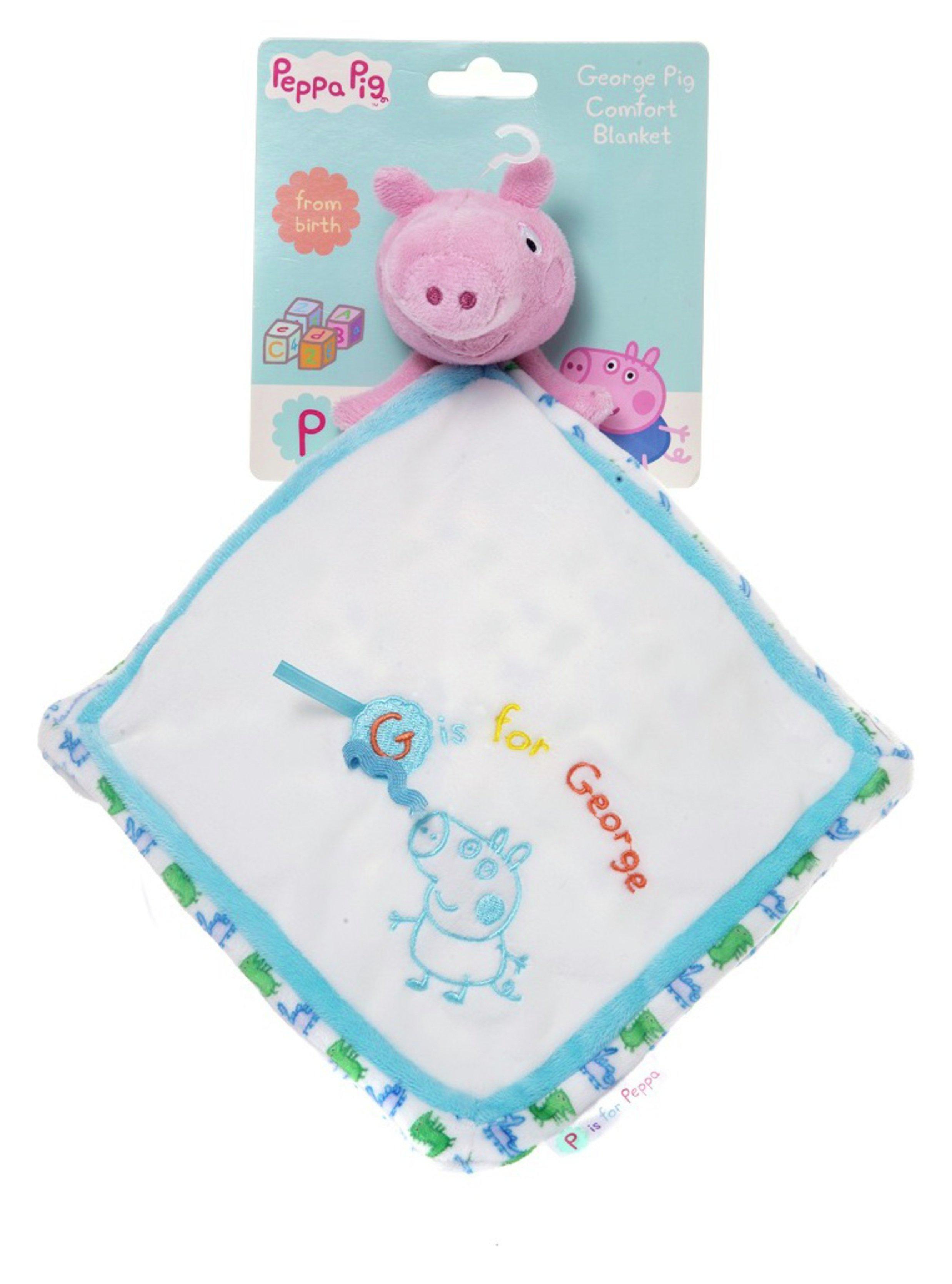 peppa pig  for baby  george pig  comfort blanket
