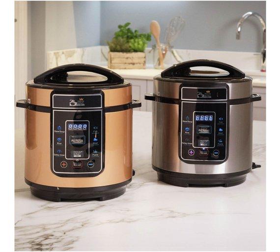 King Mini Kitchen: NEW 3L Pressure King Pro Copper 8-in-1 Digital Pressure