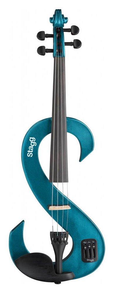Stagg Electric Violin - Metallic Blue