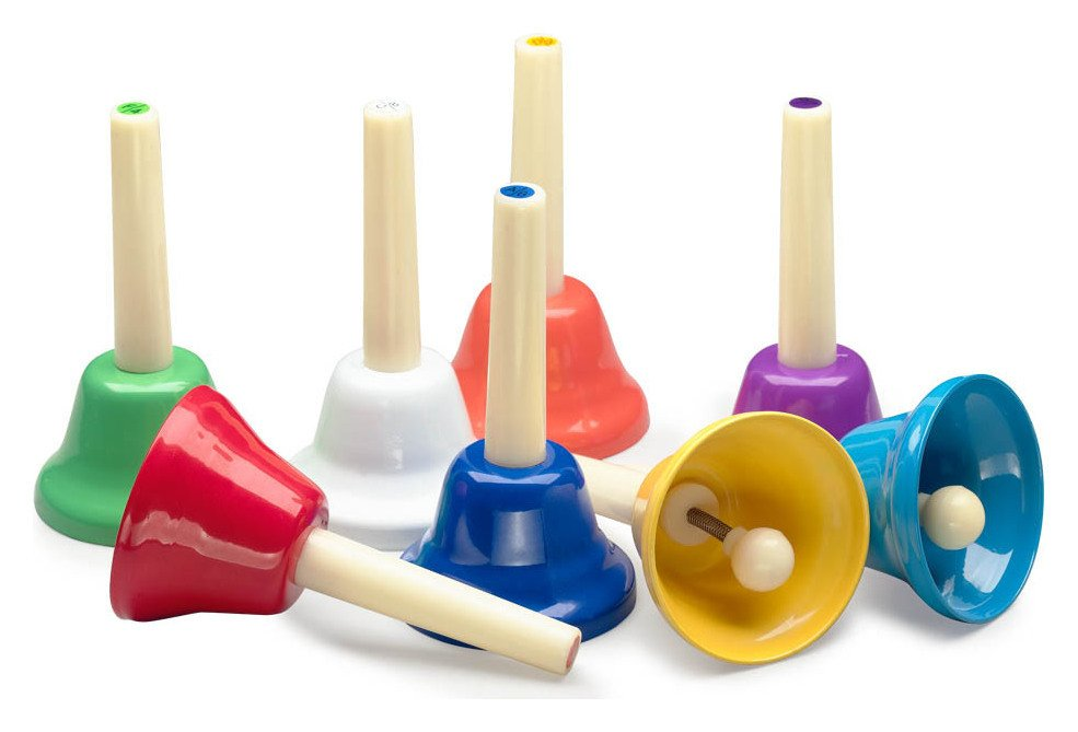 Image of A Star - 8 Note Handbell Set