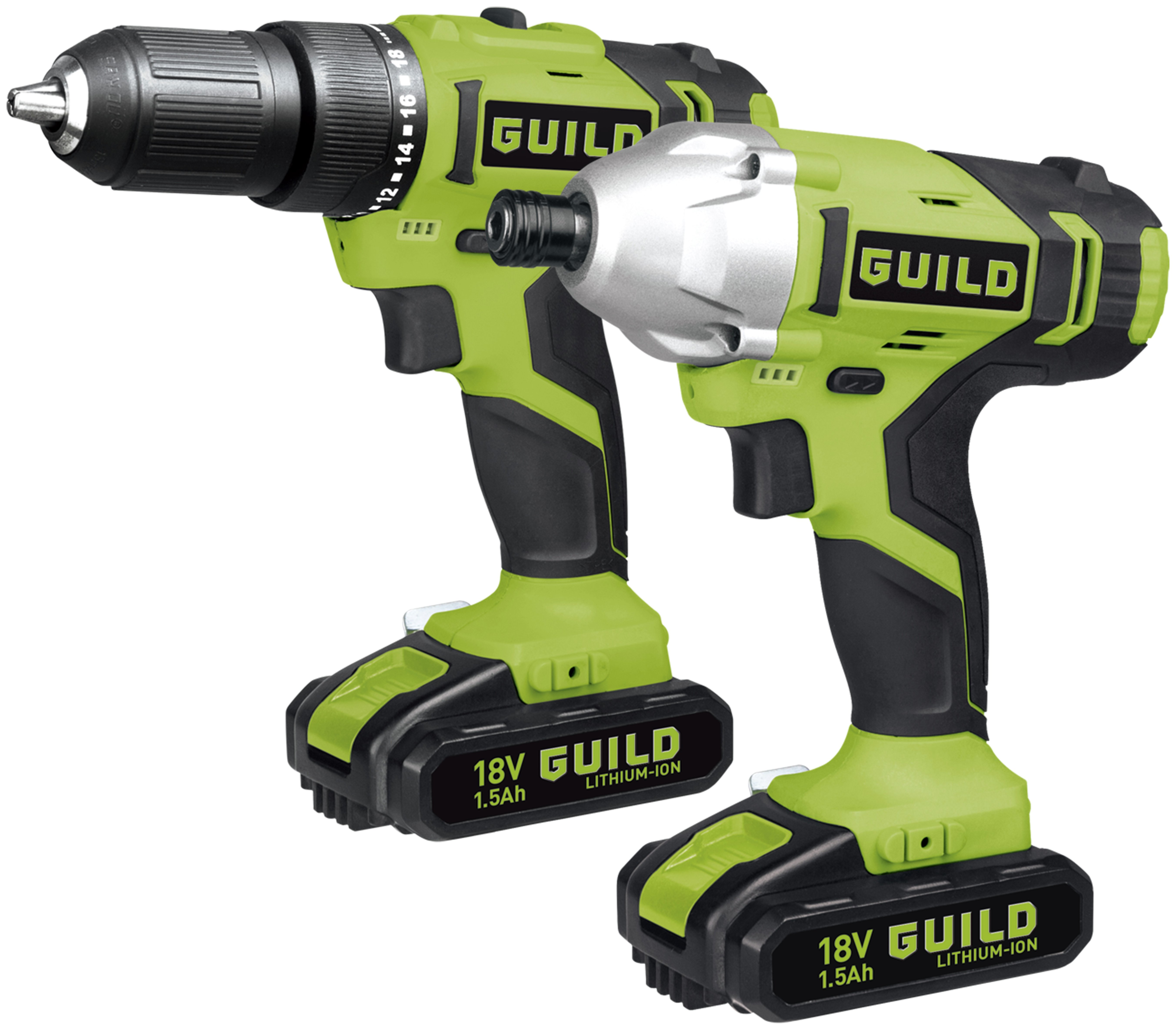 Combi And Impact Driver Twinpack