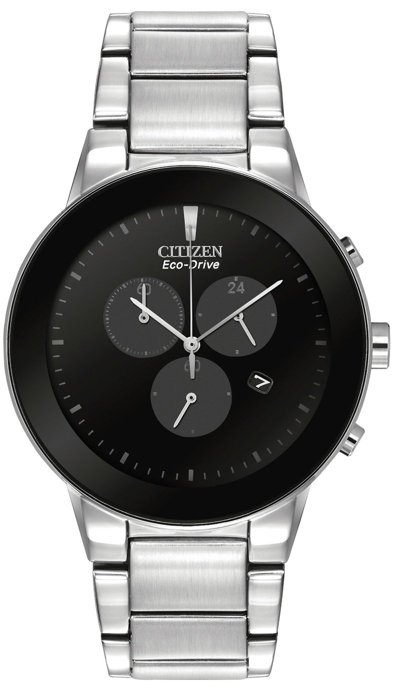 Citizen Eco-Drive Men's Steel Chronograph Watch