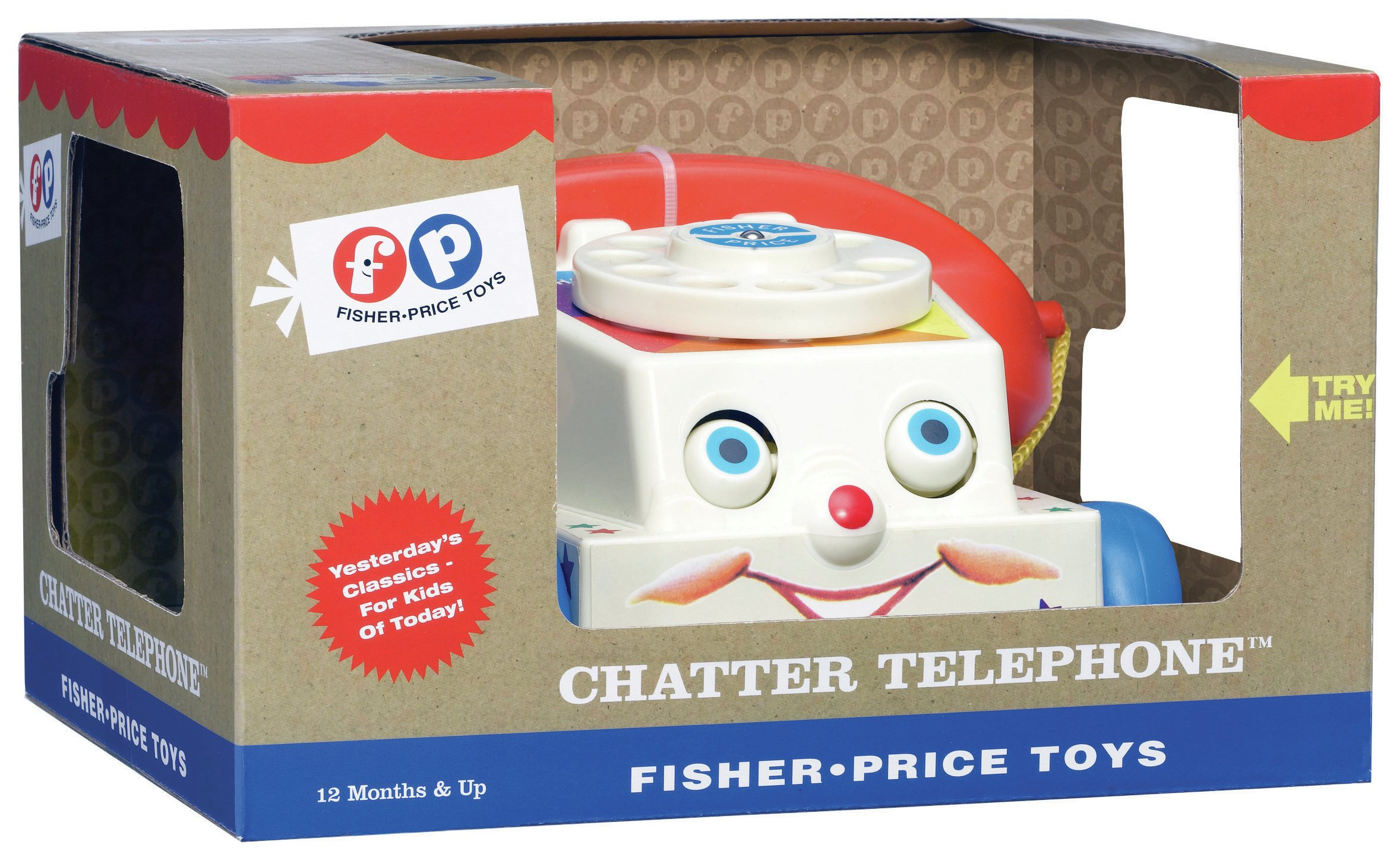 Image of Fisher-Price - Classics Chatter Telephone