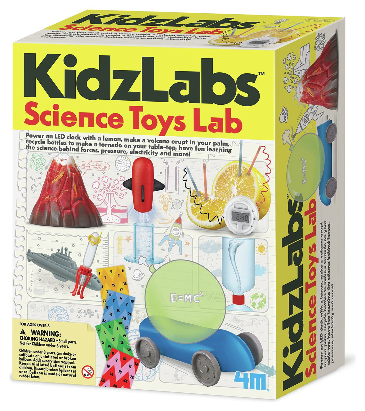 Image of 4M Kidz Labs Sci-Toys Lab