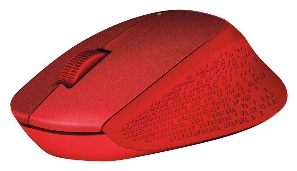 Logitech - M330 - Wireless Silent Mouse - Red