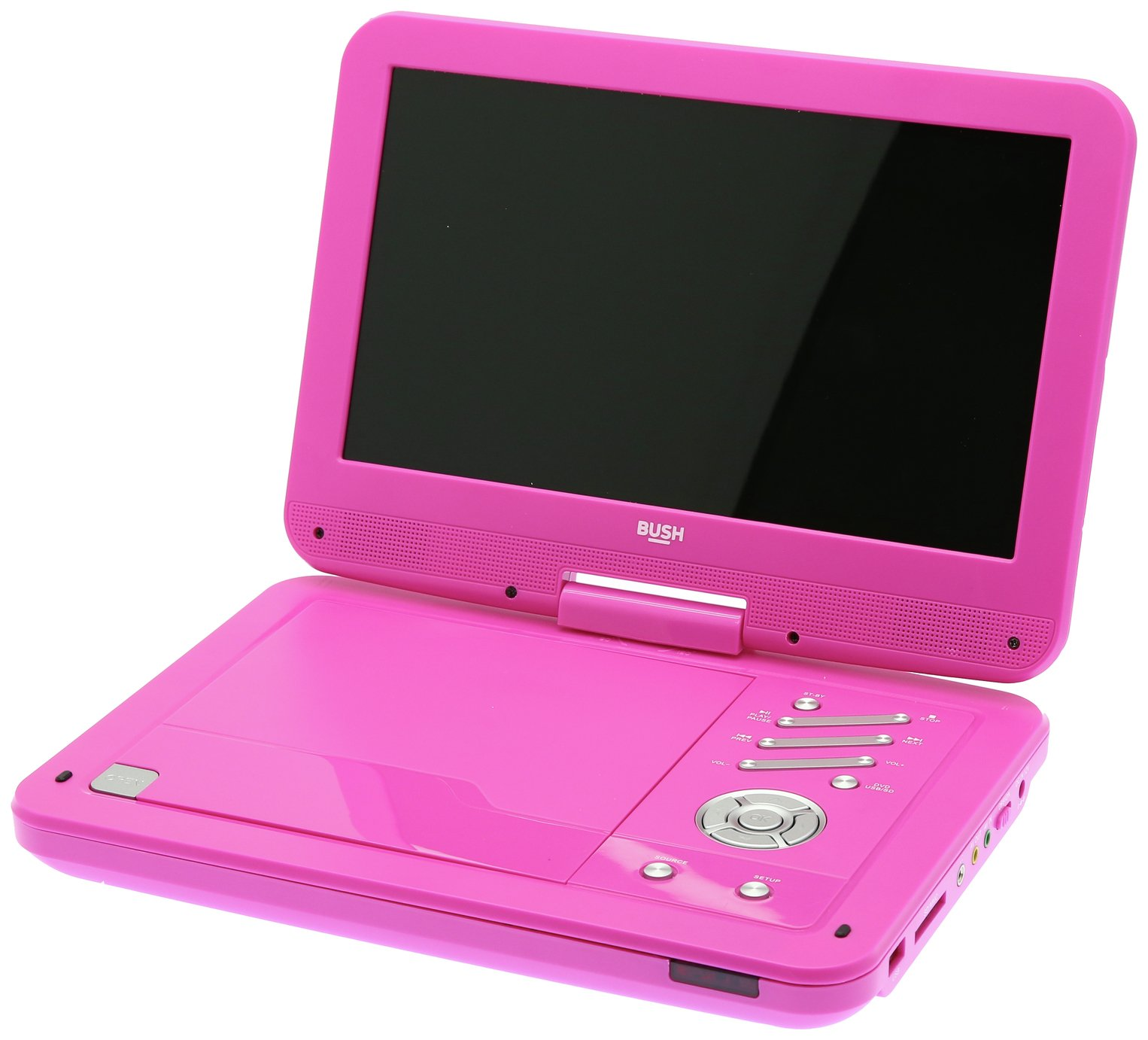Image of Bush 10 Inch Portable DVD Player - Pink