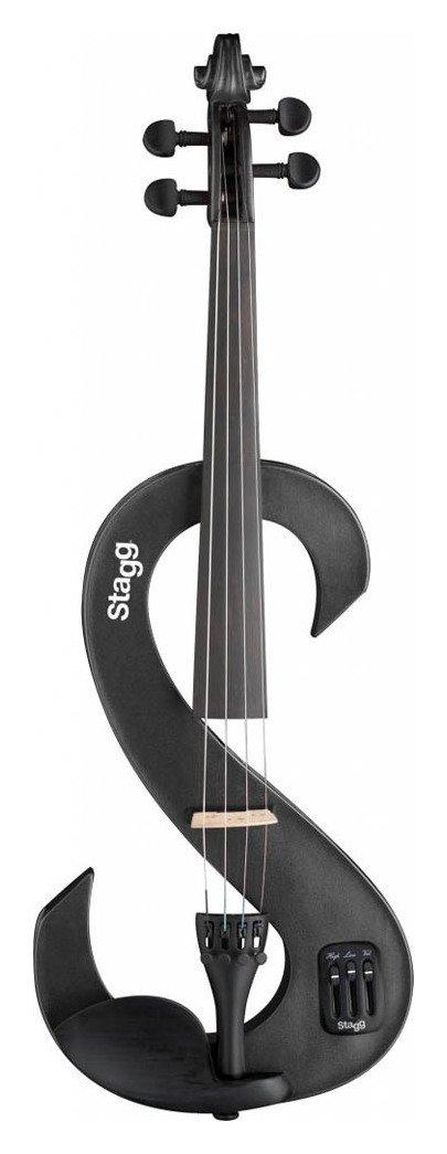 Stagg Electric Violin - Metallic Black