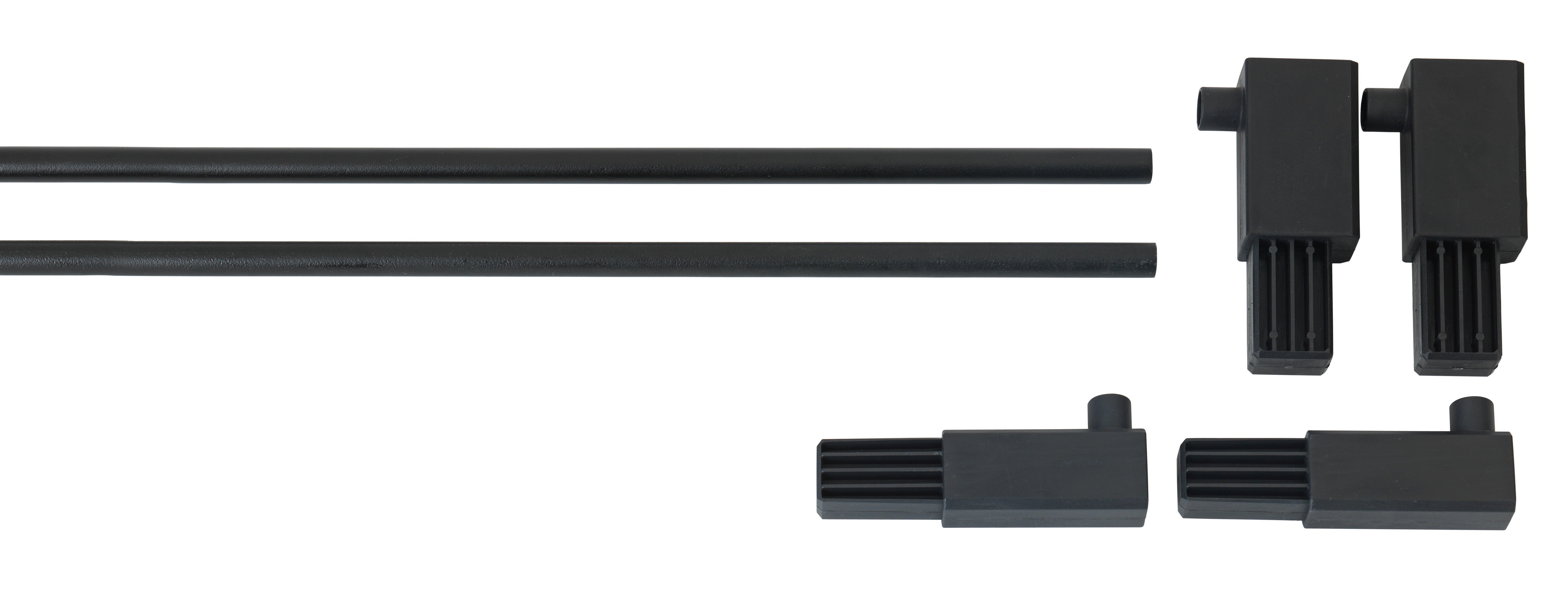 Extra Tall Pressure Pet Gate Extension - Black