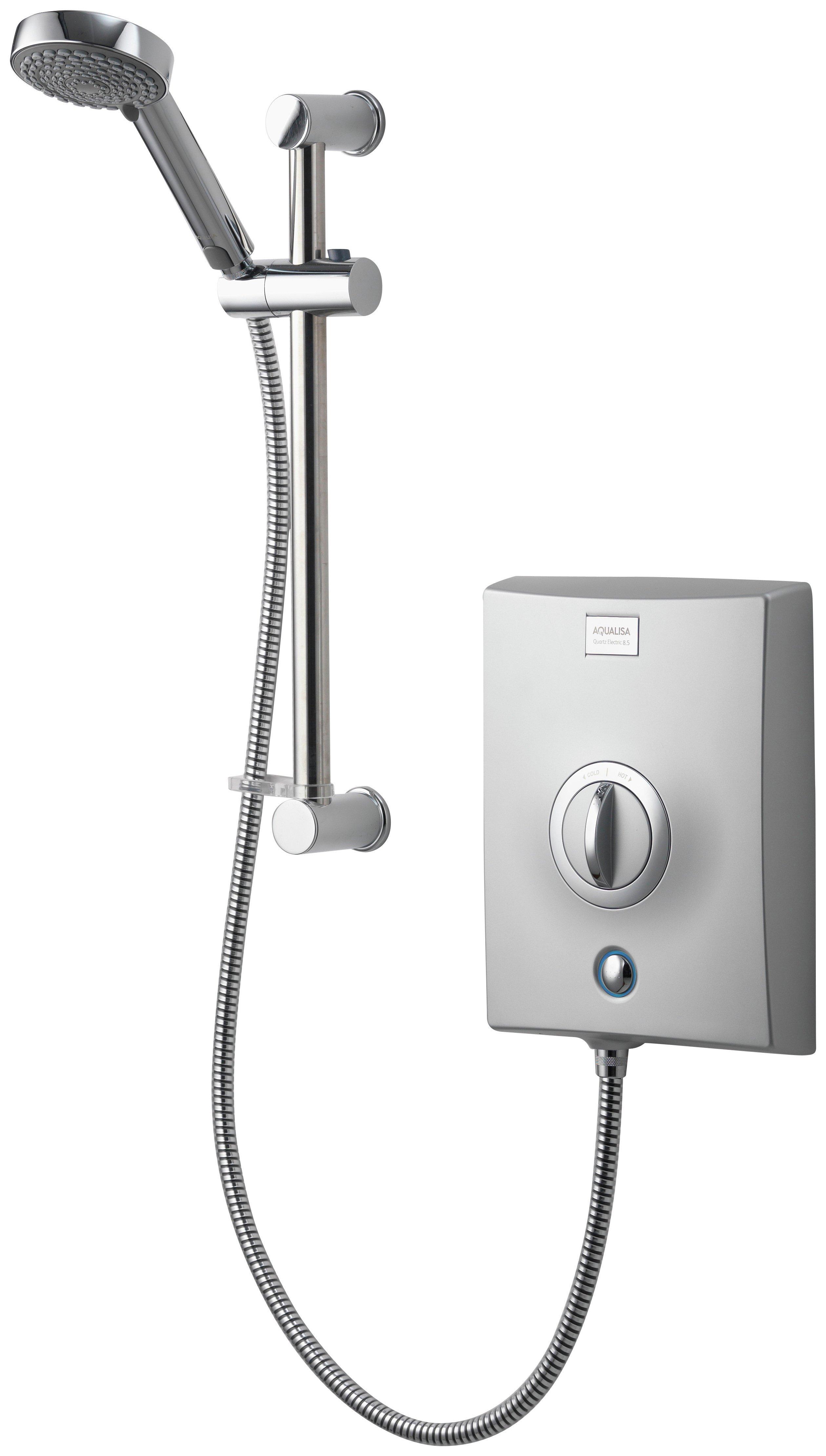 aqualisa quartz electric shower 85kw