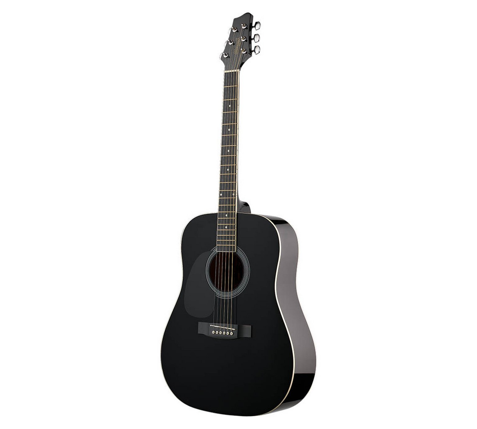 Stagg Lefthanded Acoustic Guitar - Black