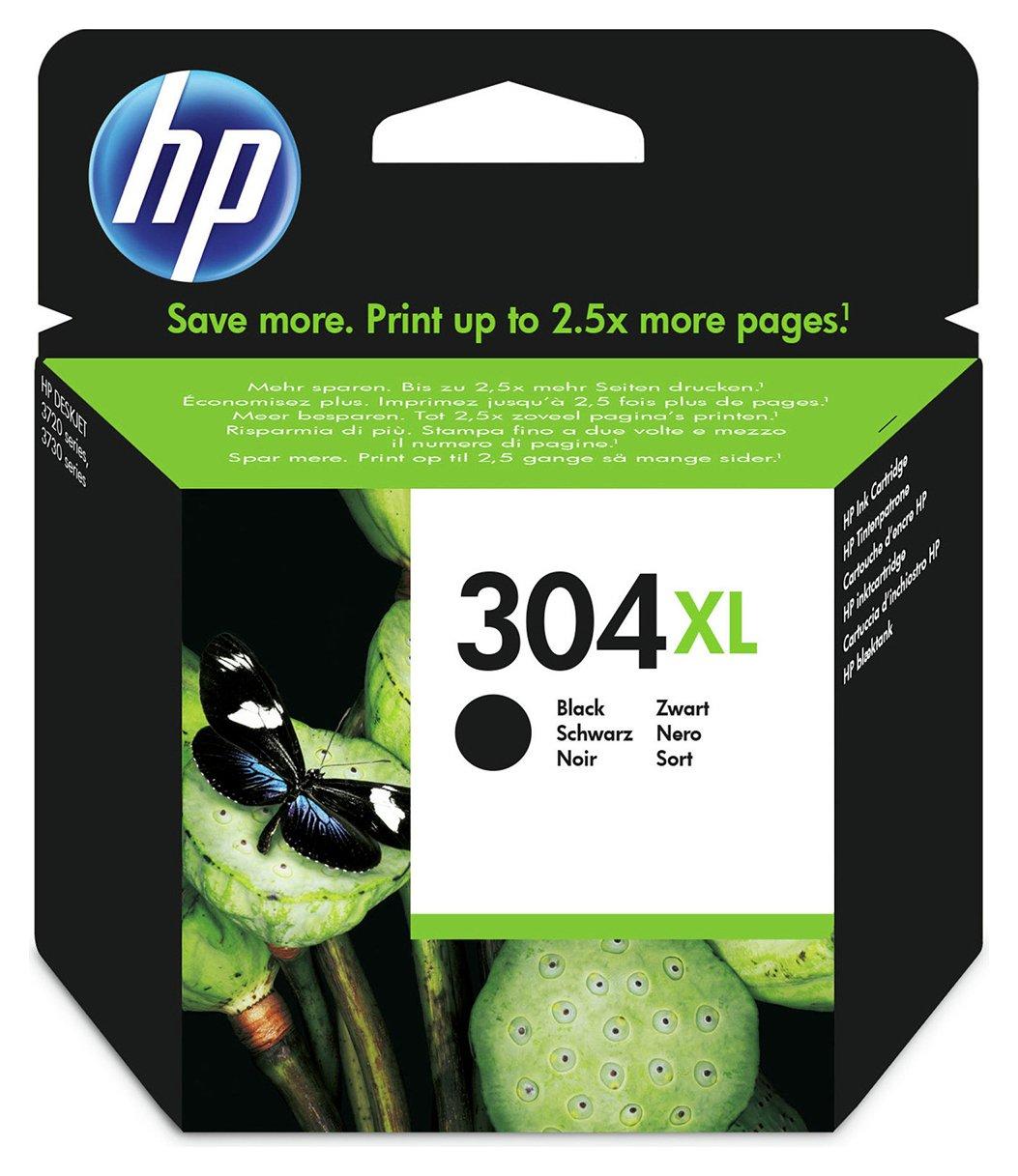HP 304XL Black Ink Cartridge.