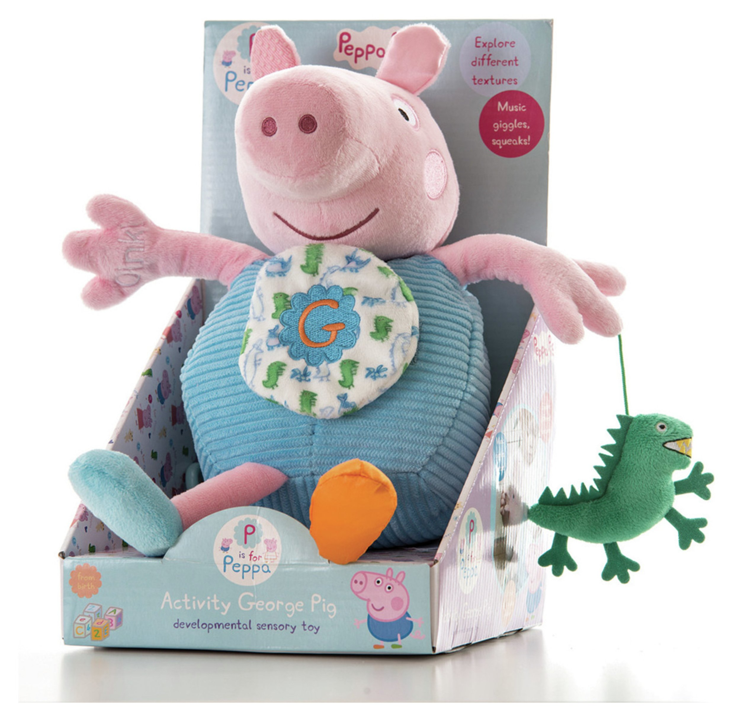 Peppa Pig - Baby George Pig Activity Toy