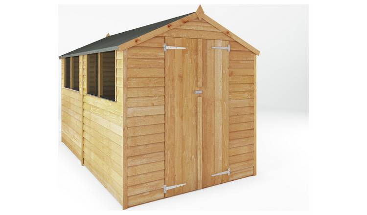 Mercia Wooden 10 x 6ft Overlap Apex Shed