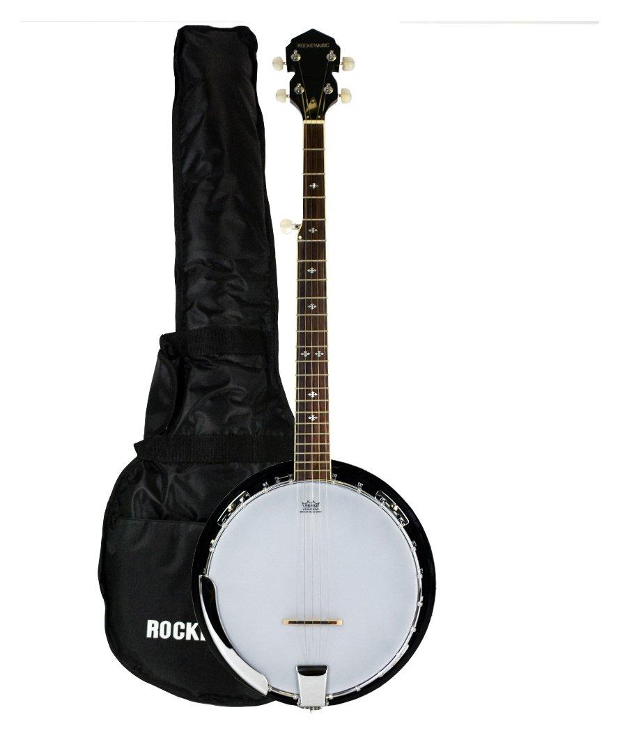 Rocket Deluxe 5 String Banjo with Bag.