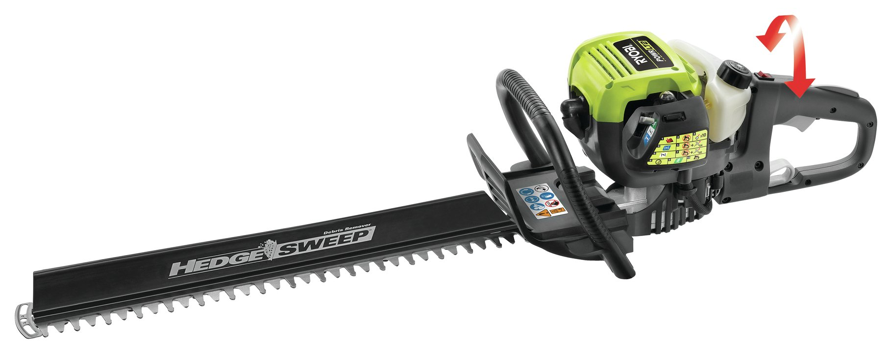 ryobi rht6560rl corded hedge trimmer 650w. Black Bedroom Furniture Sets. Home Design Ideas