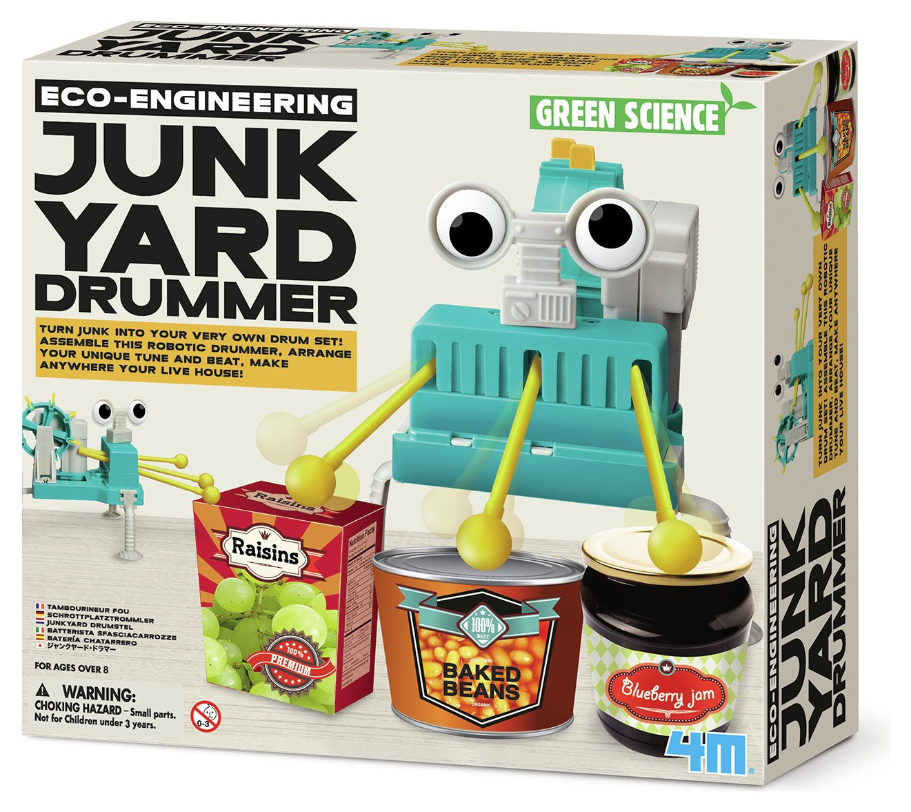 Image of 4M Eco Engineering Junkyard Drummer