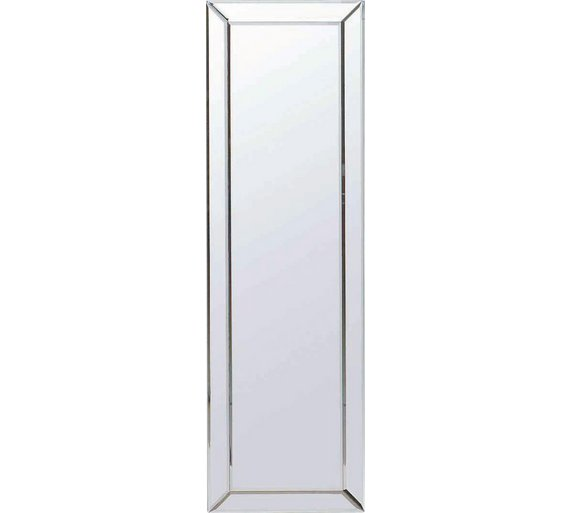 Buy collection blanche bevelled glass mirror at for Full length glass mirror