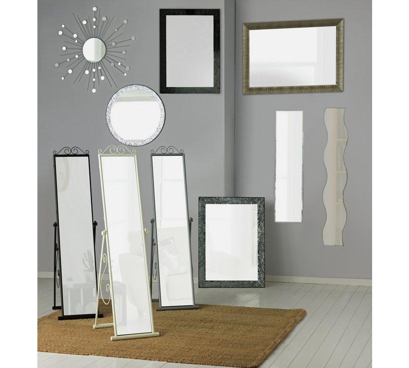 brayden studio frameless wall mirror with shelf for cool hom