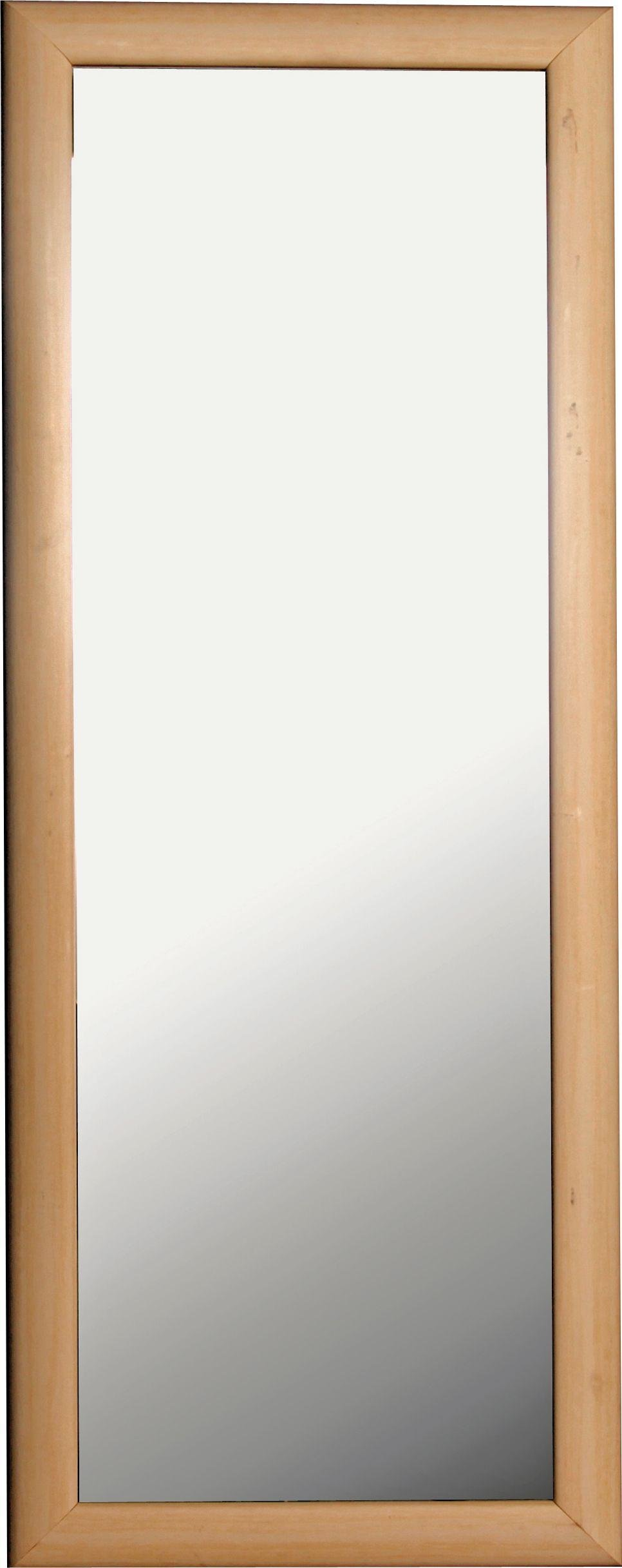Tall Wall Mirror buy simple value tall framed wall mirror - pine effect at argos.co