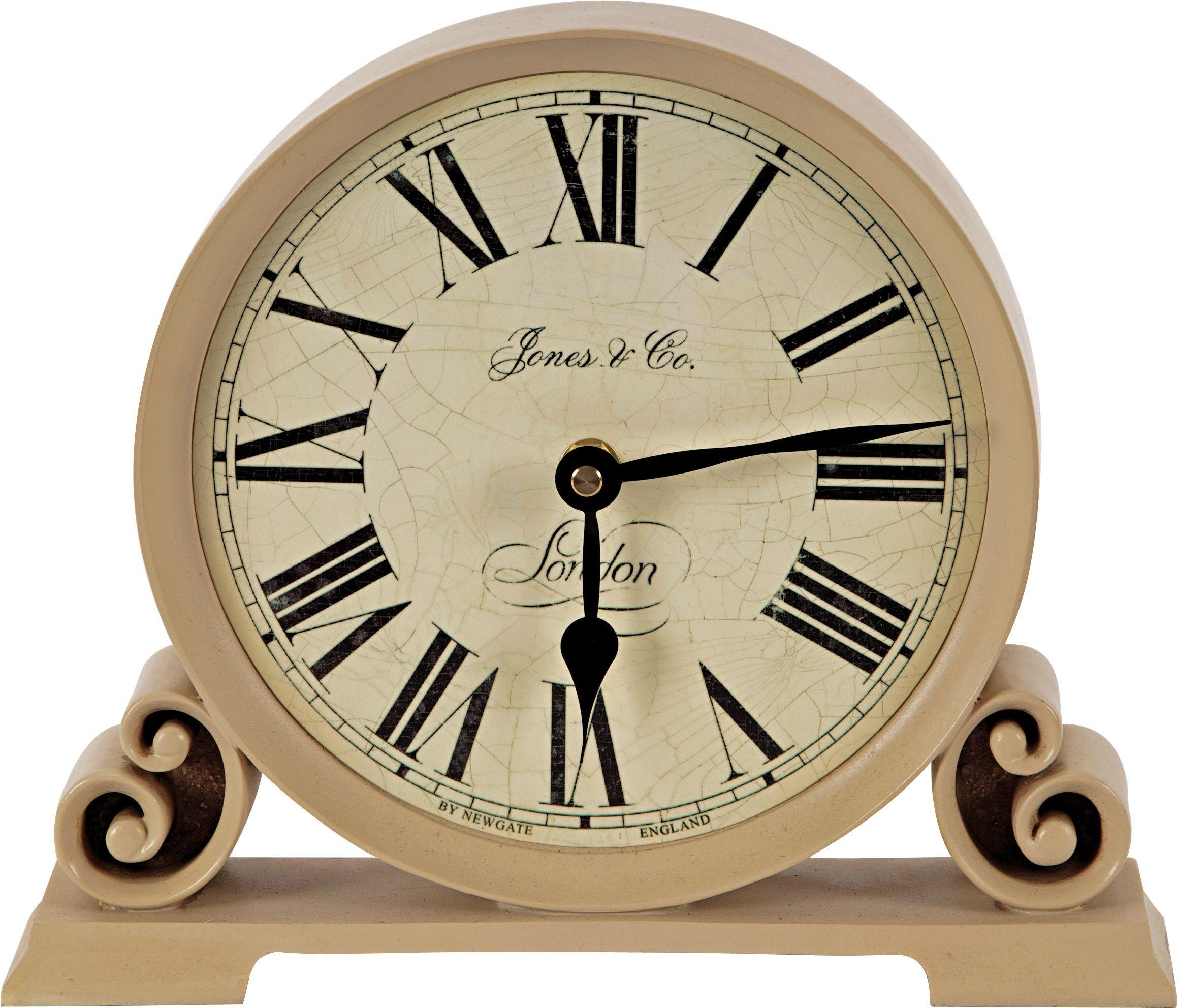 jones cream decorative mantel clock - Mantel Clock