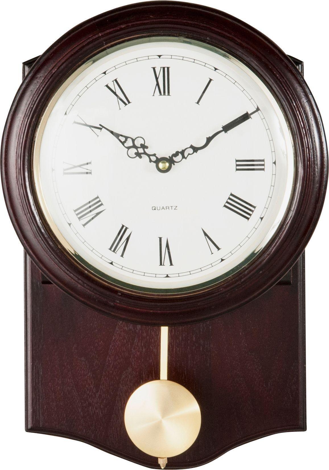 home brown pendulum wall clock - Pendulum Wall Clock