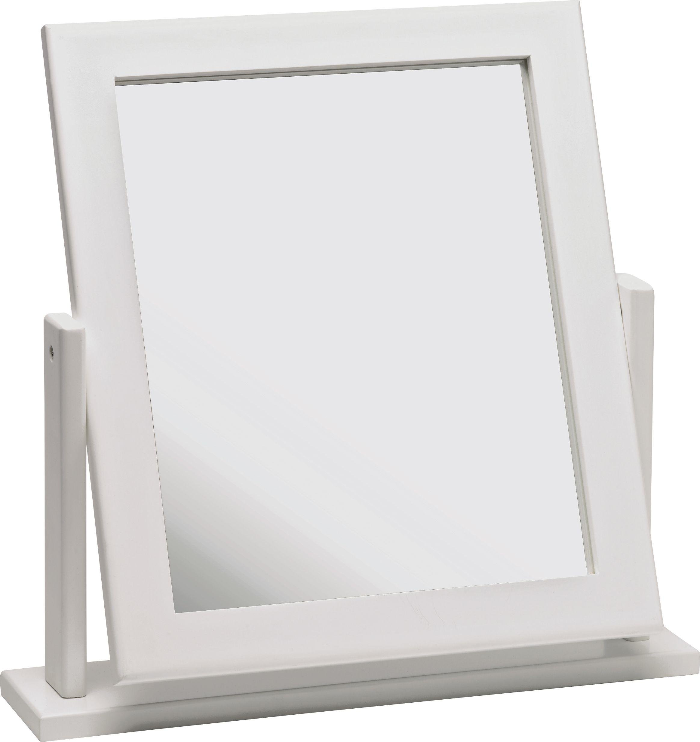 mirror table. home square dressing table mirror - white o