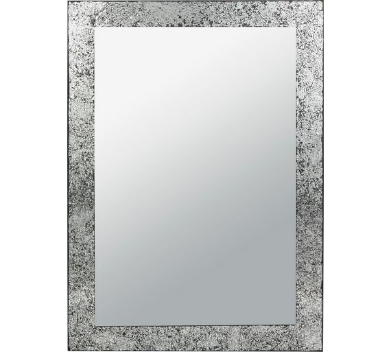 Collection India Crackle Glass Wall Mirror