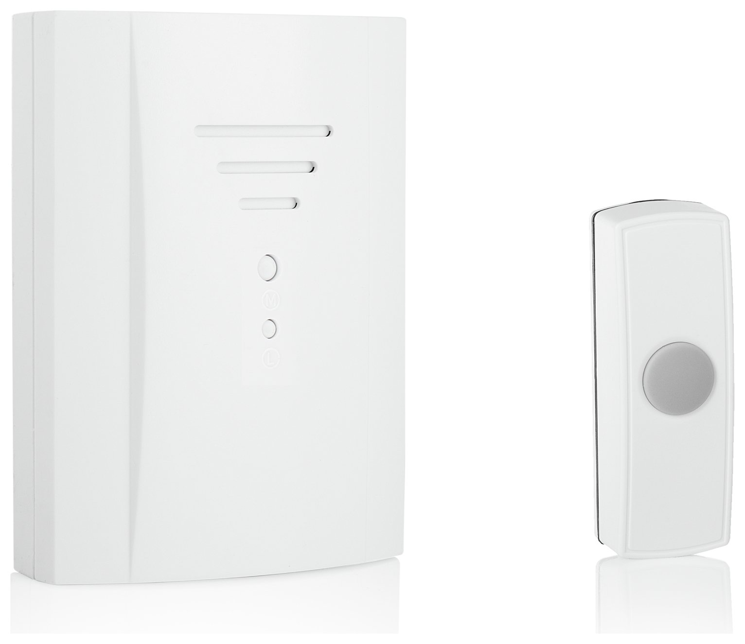 Image of Byron B305 50m Wireless Doorbell with Plug In Chime