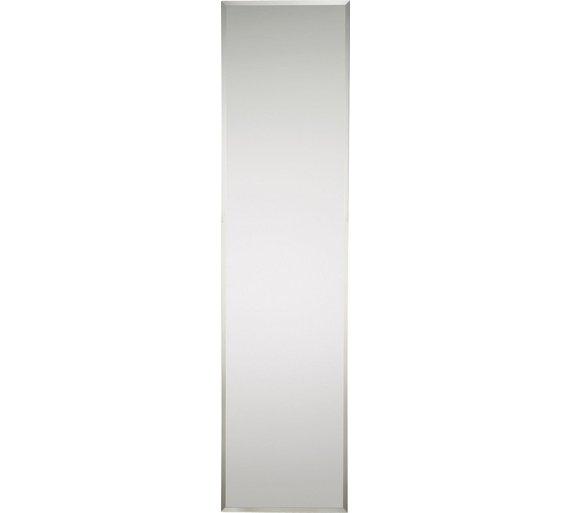 HOME Full Length Frameless Wall Mirror624 9353. Buy HOME Full Length Frameless Wall Mirror at Argos co uk   Your